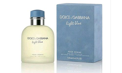6. Dolce Gabbana Light Blue Men